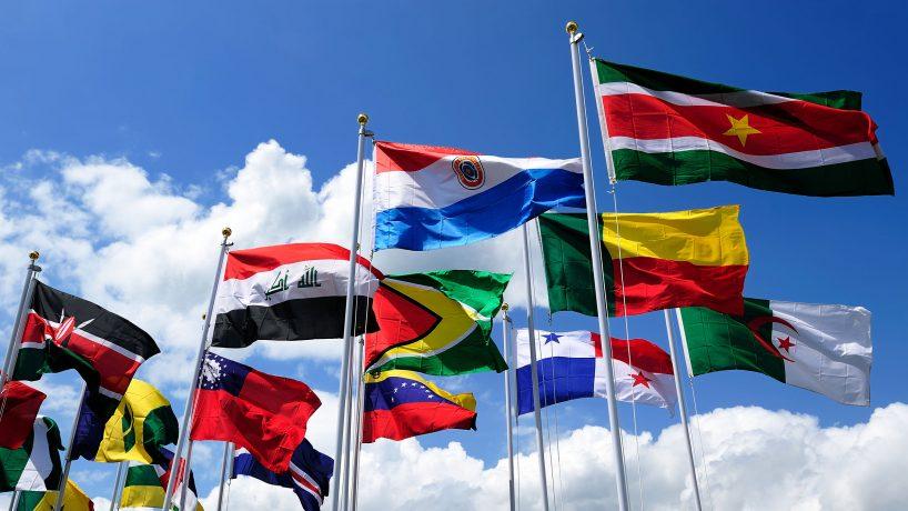 Les drapeaux de lAmérique du Sud signification et capitale de