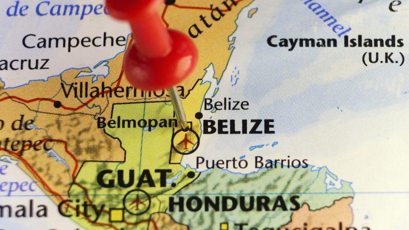 Carte de Belize