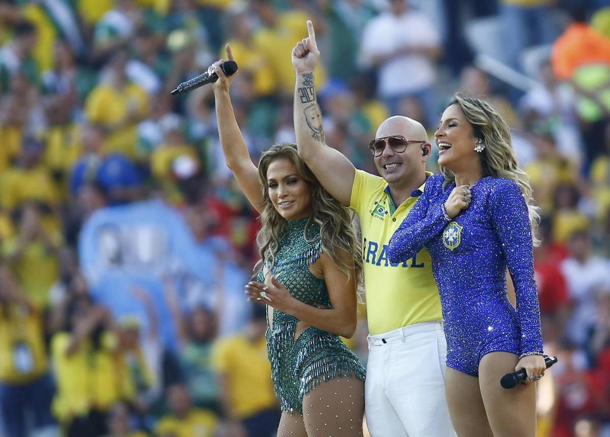 Coupe du Monde Brésil 2014 Cérémonie douverture à Sao Paulo