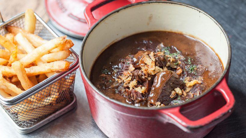 Cuisine typique de Belgique Stoofvlees