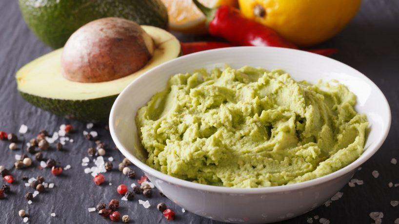 Cuisine typique du Mexique le guacamole