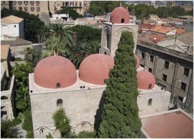 Depuis le clocher de Palerme