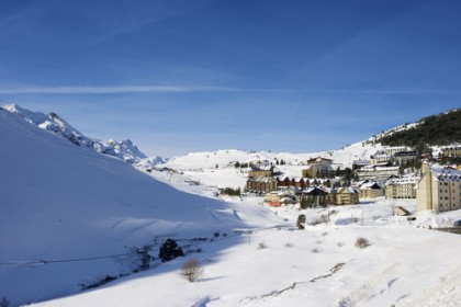 Domaines skiables en Espagne