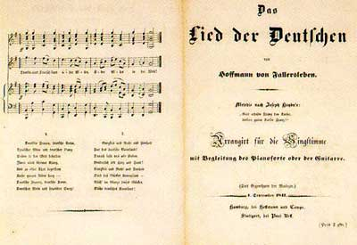 Hymne Allemagne
