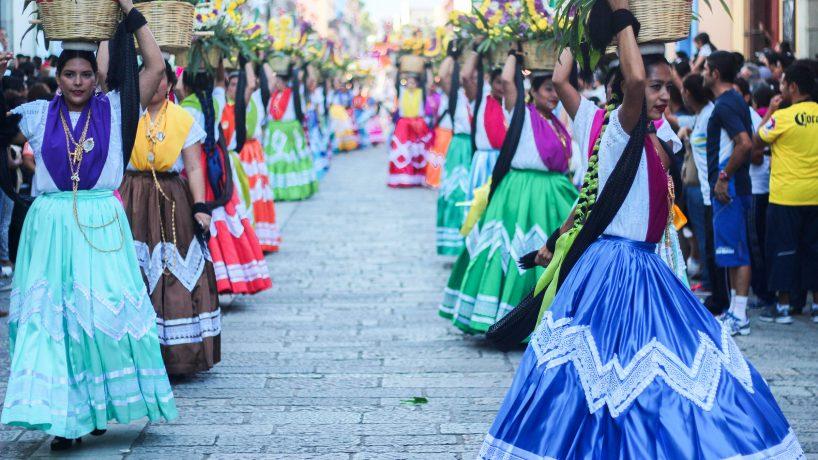 Les costumes typiques dOaxaca Mexique