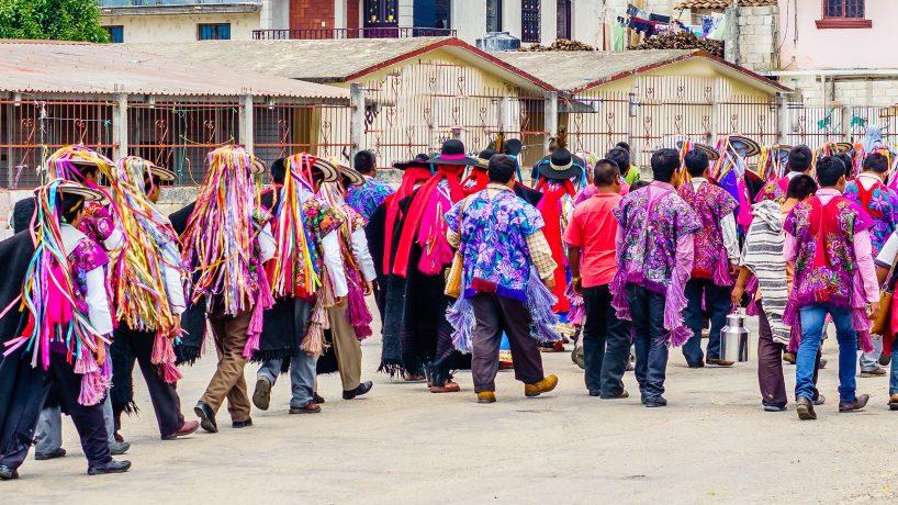 Les costumes typiques du Chiapas Mexique