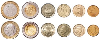 Monnaie Turquie