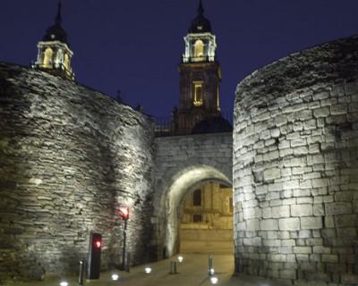 Mur romain Lugo