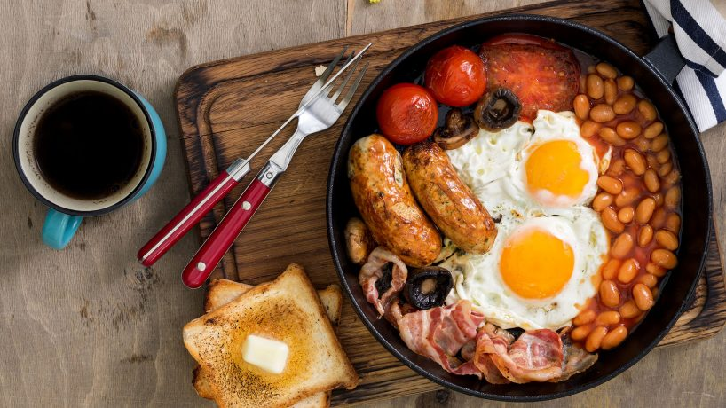 Petit déjeuner anglais recette ingrédients et histoire