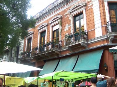 Place Dorrego et San Telmo Buenos Aires