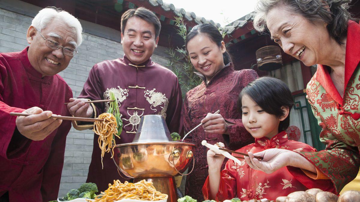Plats desserts et autres plats typiques de la cuisine chinoise