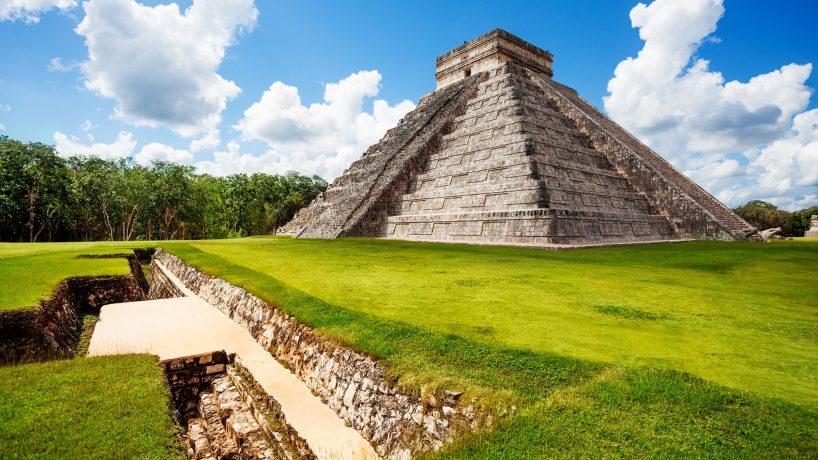 Visitez les pyramides du Mexique